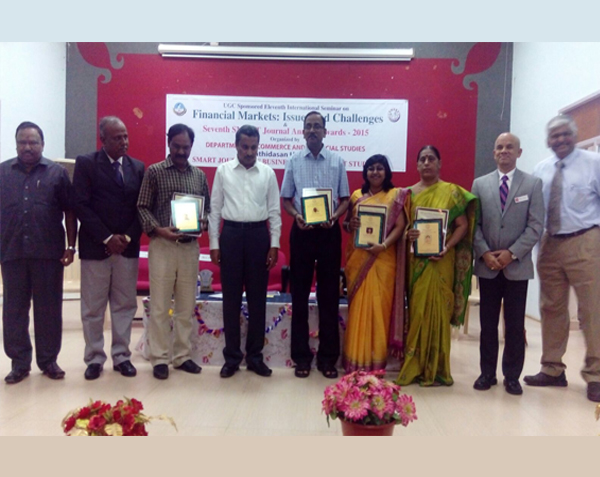 Prof  Dr  K Maran has received Management Scientist Award 2015 from